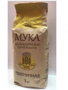 Мука пшеничная цельнозерновая 1кг Живые злаки