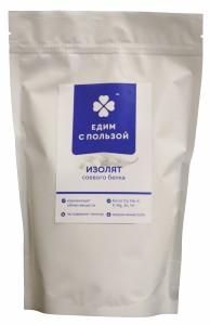 Изолят соевого белка 400г Едим с пользой
