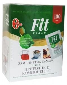 Сахарозаменитель №10 смесь 1:10 саше 100 шт по 0.5г ФитПарад