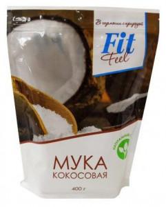 Мука кокосовая 400г Fitfeel