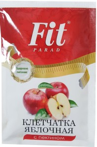 Клетчатка яблочная с пектином 25г ФитПарад