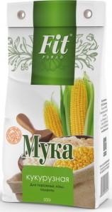 Мука кукурузная 500г ФитПарад