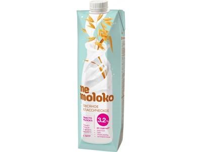 Напиток овсяный классический с кальцием и В2 3,2% 250мл Nemoloko
