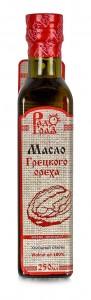 Масло грецкого ореха нерафинированное холодный отжим ст/б 250мл Радоград