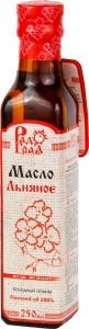 Масло льняное ст/б 250мл Радоград