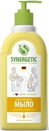 Мыло жидкое для мытья рук Цветы ромашки дозатор 500мл Synergetic