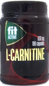 L-карнитин банка №180 Fit active