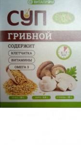 Суп сухой Грибной 1 саше 20г Золотой лён