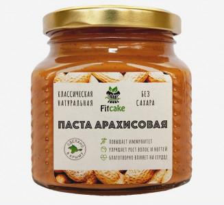 Паста арахисовая классическая 250г FitCake