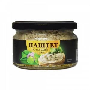"""Соевый тофу-паштет """"Прованский"""" 200г Ecotopia"""