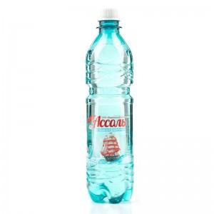Вода минеральная питьевая негаз 0.5 л Ассоль