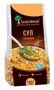 Суп гороховый постный 250 Здороведа