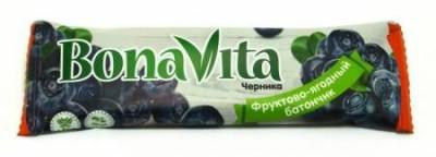 Батончик фруктово-ягодный Черника 40г Bona Vita