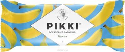 Батончик мягкий фруктовый Банан-Яблоко 25г Pikki