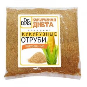 Отруби кукурузные рассыпчатые 180г Dr.DiaS