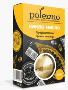 Масло какао нерафинированное 250г Полезно