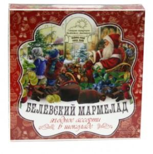 Белевский мармелад в шоколаде Ягодное ассорти 120г Старые Традиции