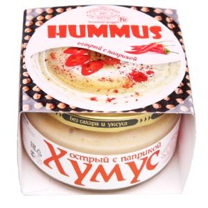 Хумус с паприкой ст/б 200г Полезные продукты