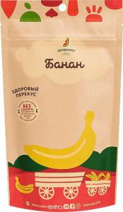 Банан сублимированный 20г Зеленика