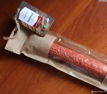 Колбаса вегетарианская варено-копченая Таллинская 250г Высший вкус