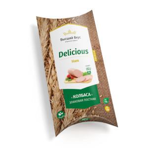 Колбаса вегетарианская Делишес классик 300г Ведрусса