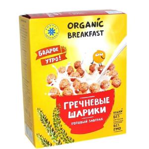 Завтраки сухие Гречневые шарики 100г Компас здоровья