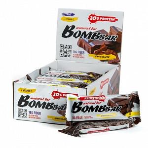 Батончик протеиновый Двойной шоколад 60г Bombbar