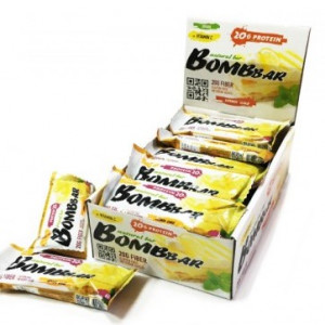Батончик протеиновый Лимонный торт 60г Bombbar