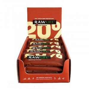 Батончик протеиновый 20% фруктово-ореховый Шоколад 47г RAW