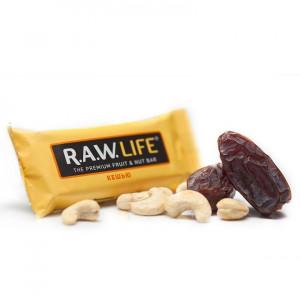 Батончик орехово-фруктовый Кешью 47г R.A.W Life