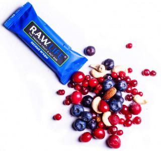 Батончик орехово-фруктовый Лесные ягоды 47г R.A.W Life