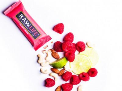 Батончик орехово-фруктовый Малина-Лайм 47г R.A.W Life