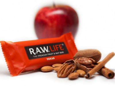 Батончик орехово-фруктовый Пекан 47г R.A.W Life