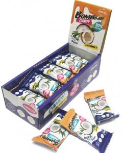 Конфеты протеиновые Кокос с кешью 18г Bombbar