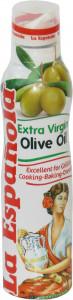 Масло оливковое Extra Virgin спрей 200мл La Espanola