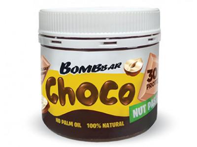 Паста шоколадная с фундуком 150г Bombbar