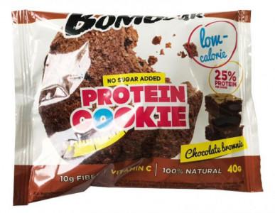 Печенье протеиновое Шоколадный брауни 40г Bombbar