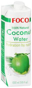 Кокосовая вода 100% 1л FOCO