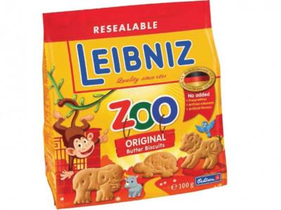 Печенье детское сливочное Зоо джунгли 100г Лейбниц