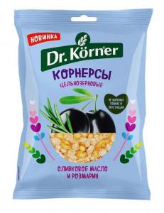 Чипсы кукурузно-рисовые оливковое масло и розмарин 50г DR.KORNER