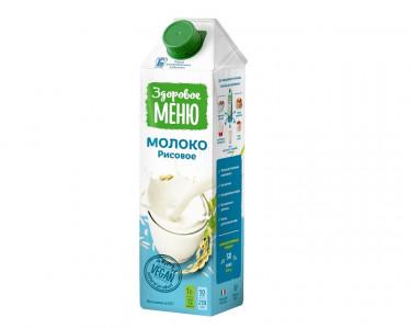 Молоко рисовое 1л Здоровое меню