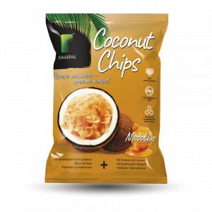 Чипсы кокосовые Медовые 40г Naarial
