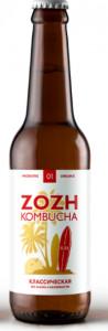 Kombucha классическая ст/б 330мл Zozh