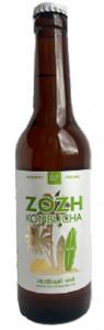 Kombucha с зеленым чаем ст/б 330мл Zozh