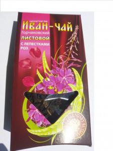 Иван-чай Горчаковский с лепестками роз 30г Тиавит
