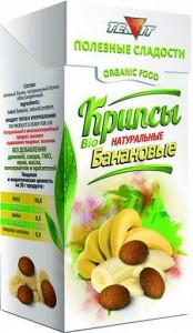 Крипсы банановые 30г Тиавит