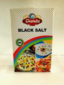 Соль черная гималайская 200г Чанда