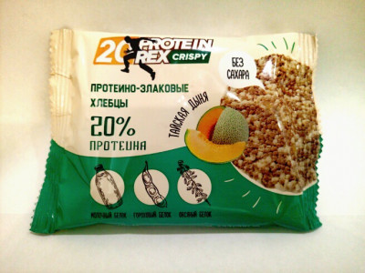 Хлебцы протеино-злаковые Тайская дыня 55г Proteinrex