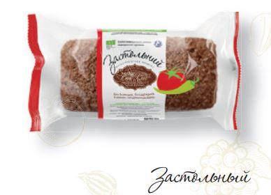 Хлеб из проросшей пшеницы Застольный со специями 330г ЭКО-ХЛЕБ