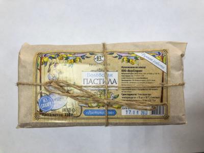 Белёвская пастила диетическая (без сахара) пергамент 350г ВкусСтория